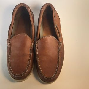 Vintage Bass Brown Leather Loafers😎